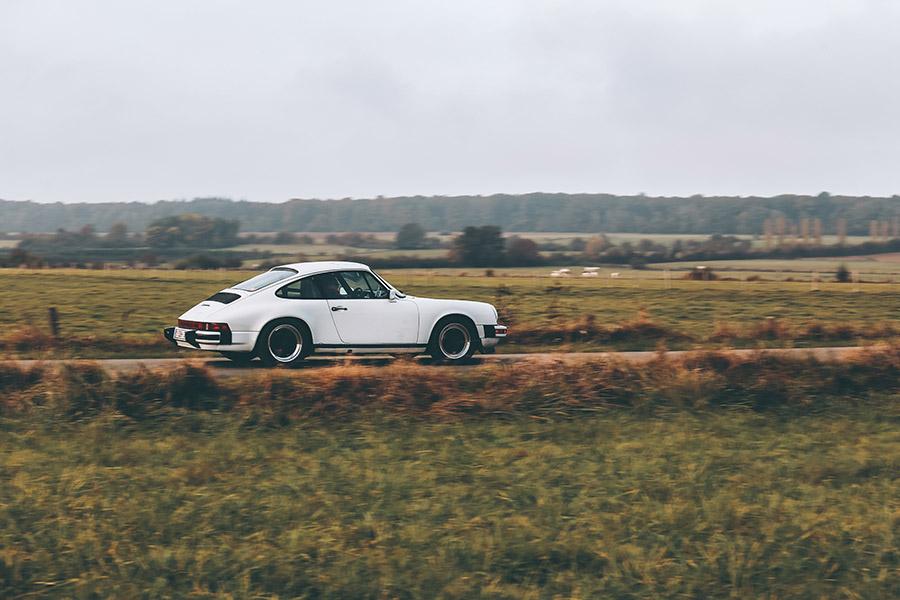 White 911 Porsche Photo