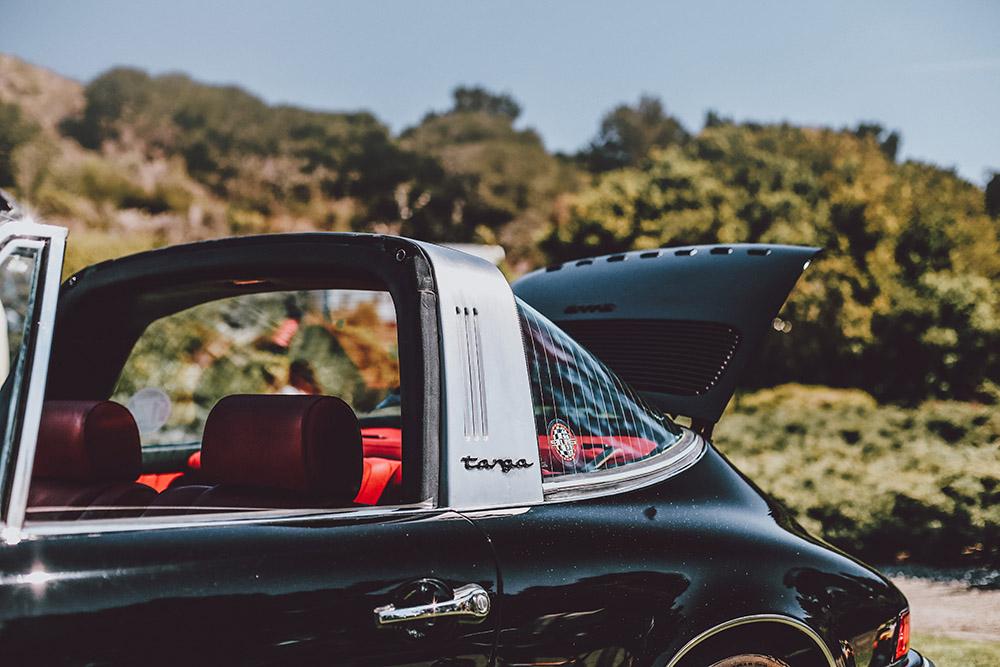 Porsche Targa Photograph