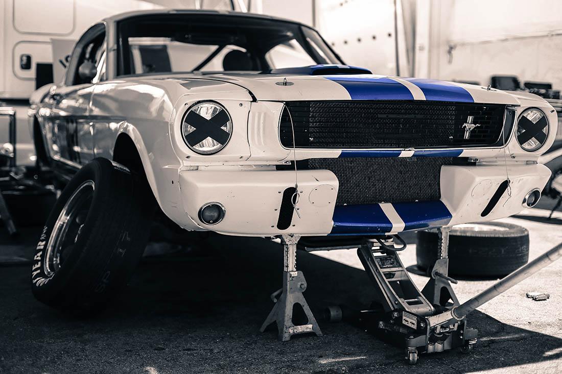 Photograph Ford Mustang Print