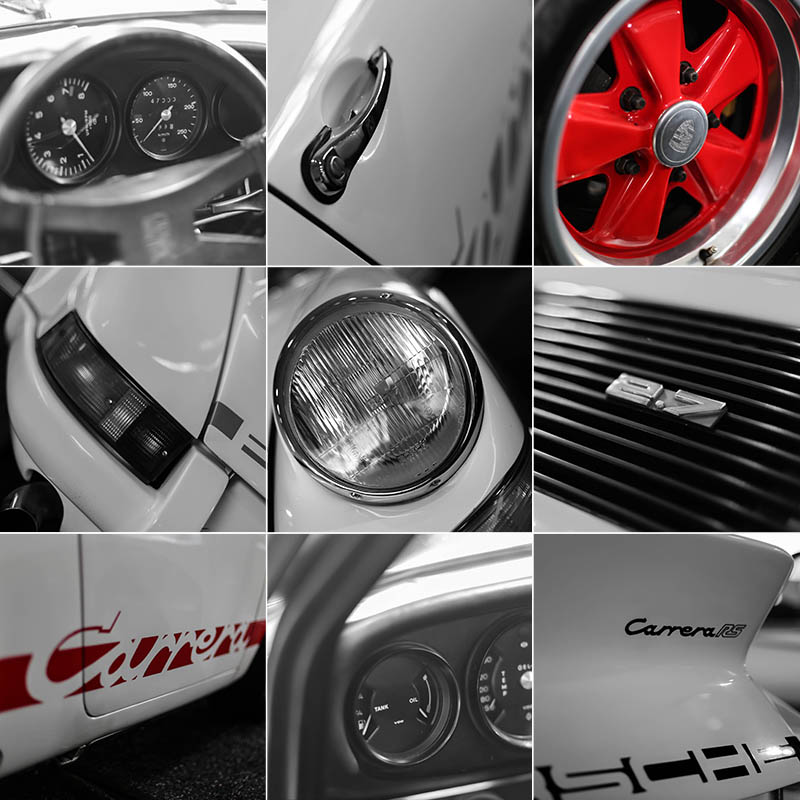 Photograph Porsche Art Carrera