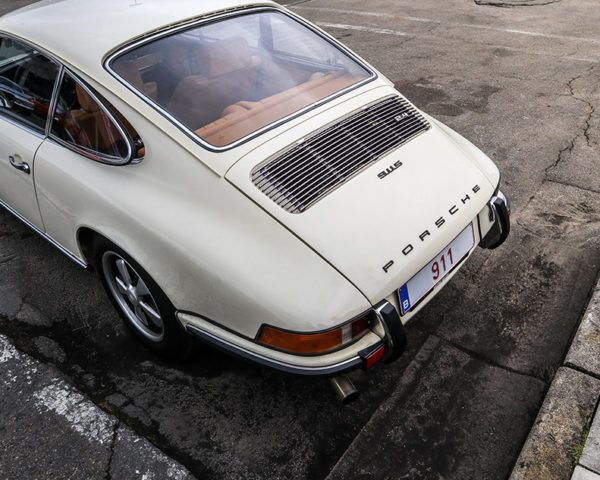 Photograph of a 911 Porsche Classic