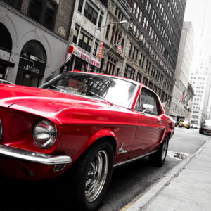 Ford Mustang Photograph in New York