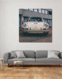 White 911 Porsche Classic Photographs