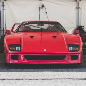 Ferrari F40 Photograph