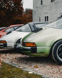 Line of Porsche 911 Photograph