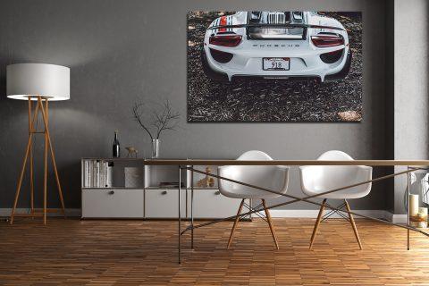 Porsche 918 Martini Photographs