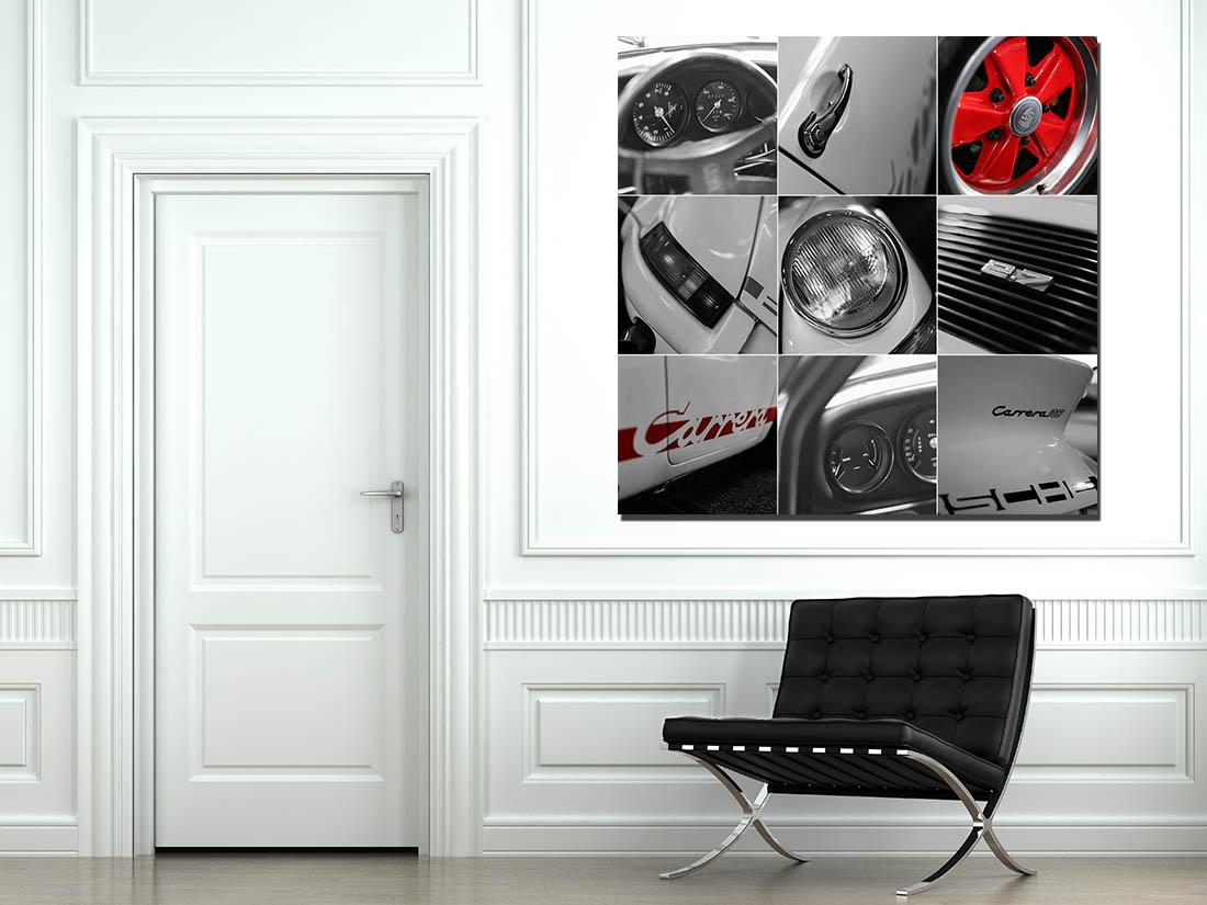 Photographs Porsche Art Carrera