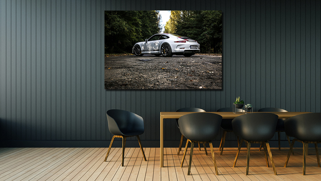 Photographs of 911 R Porsche