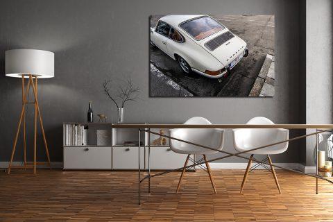 Photographs of a 911 Porsche Classic
