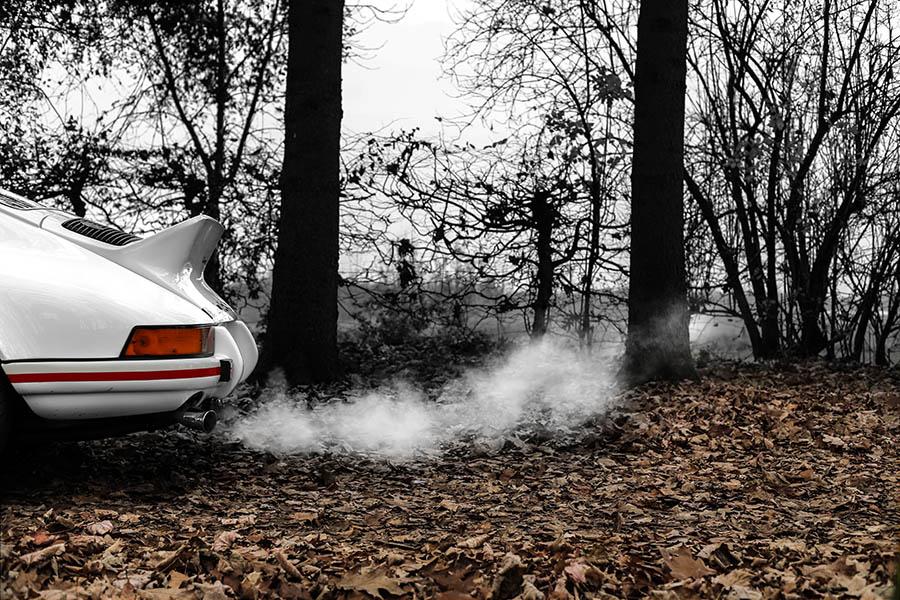 Plexiglass Car Print Porsche