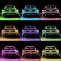 Pop Art Print Ford Mustang