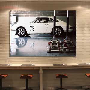 Porsche 901 Classic with coves - Wall Print