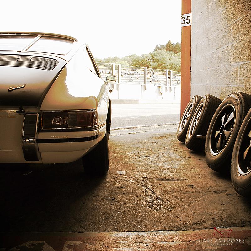 Porsche 911 Back and Wheels