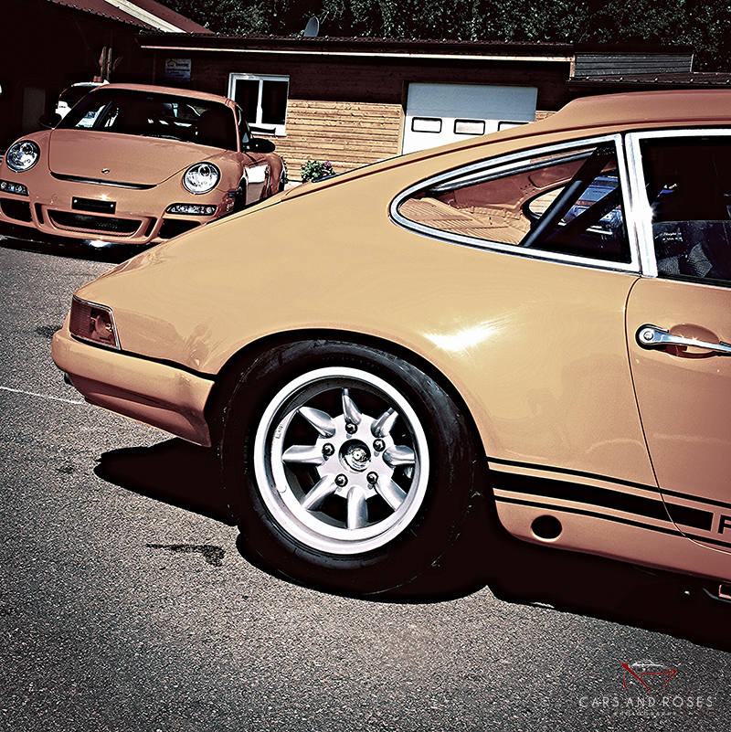 Porsche 912 and GT3