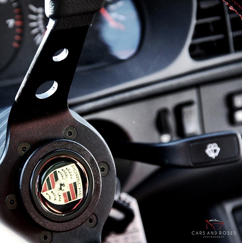 Porsche 930 SC Steering Wheel