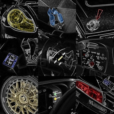 Porsche GT3 Artistic Creation