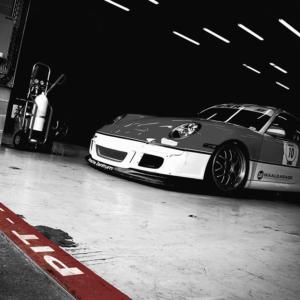 Porsche GT3 Cup Pit Lane