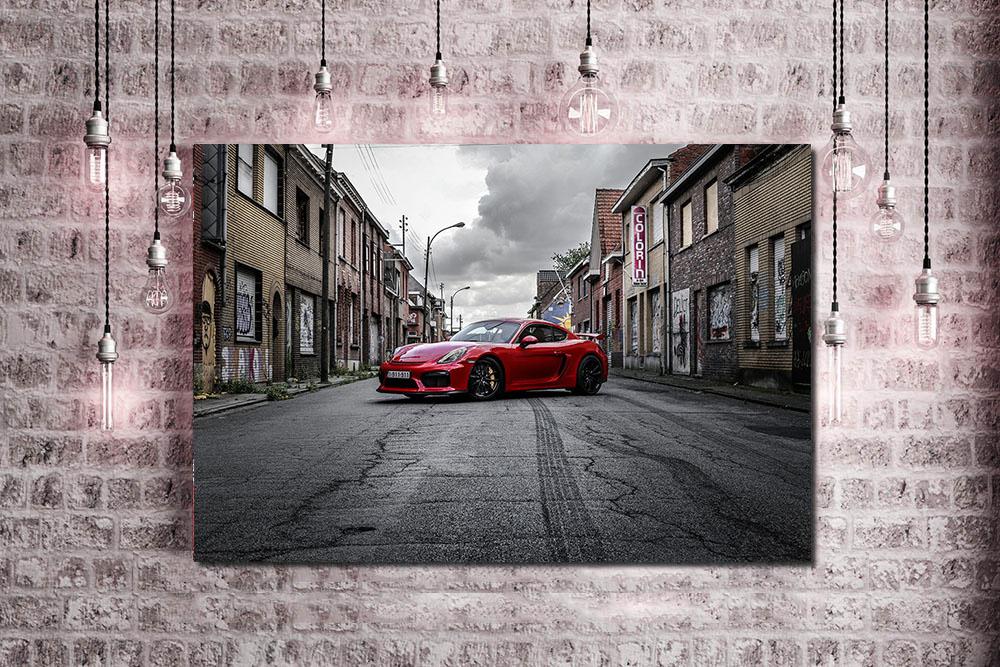 Porsche GT4 Photographs