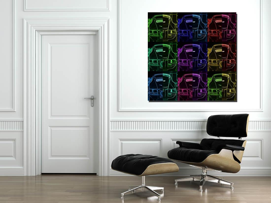 Porsche Pop Art Prints