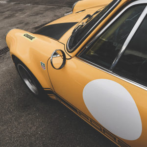 Yellow Porsche 911 Photograph