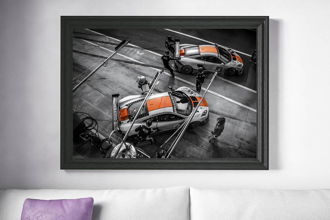 Race Cars Wall Prints