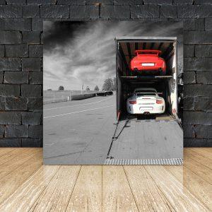 Art Porsche Canvas