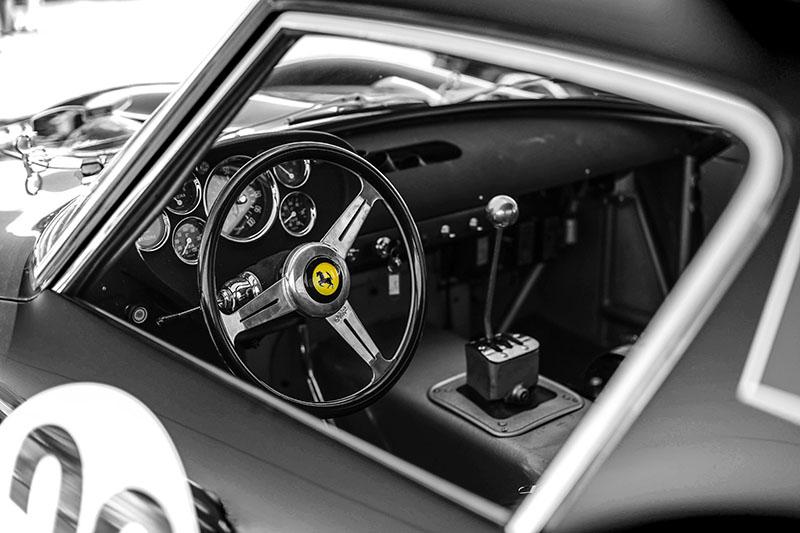 Deco Car Prints Ferrari
