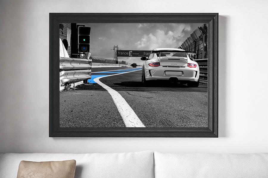 Decorative Print Porsche 997 GT3 RS