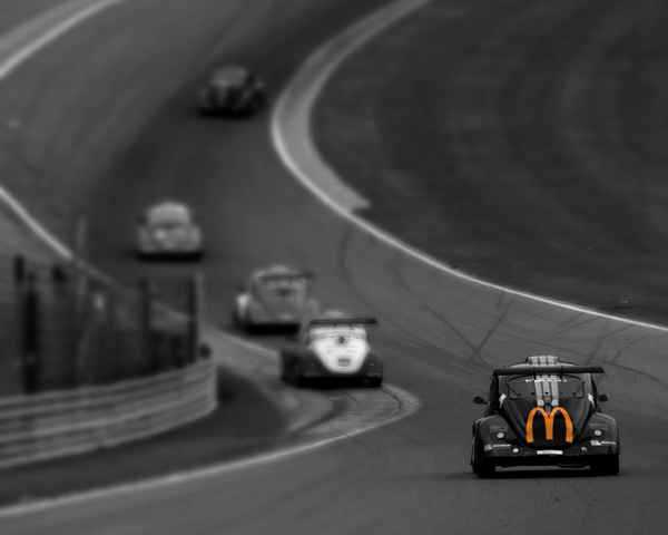 VW FUN CUP in the Raidillon