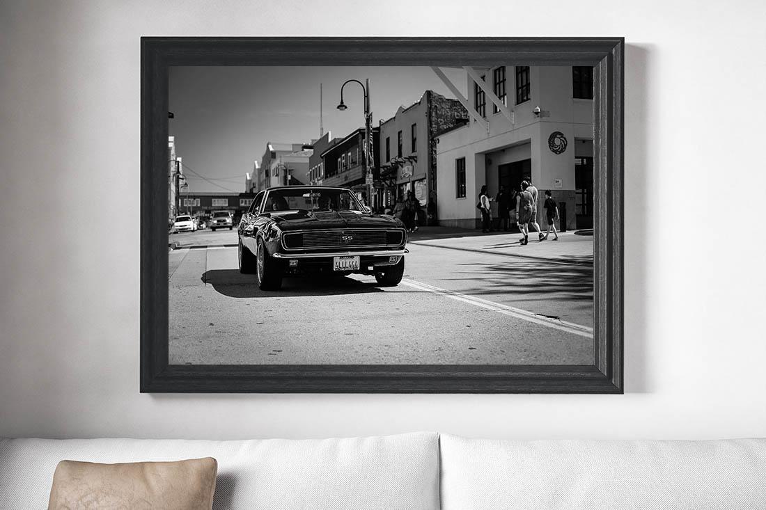 Wall Cars Prints Camaro