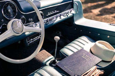 Wall Deco Photo Car Mercedes