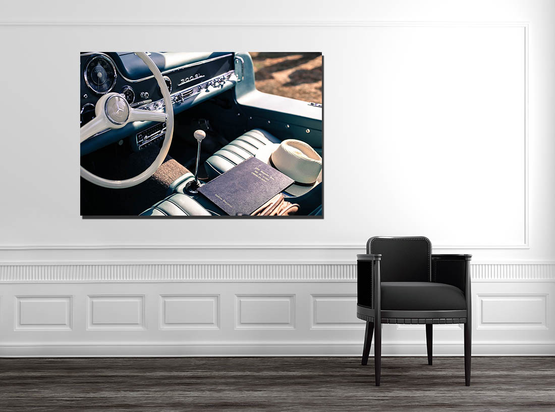 Wall Deco Photo Cars Mercedes