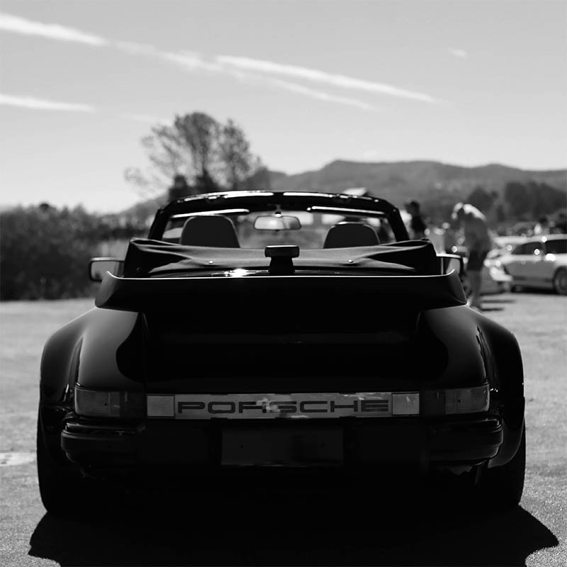 Wall Deco Photograph Porsche 964