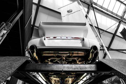 Wall Photograph 993 Porsche