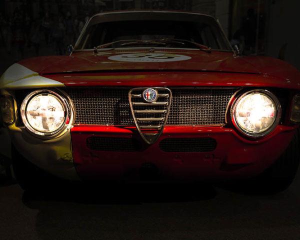 Wall Photograph Alfa Romeo