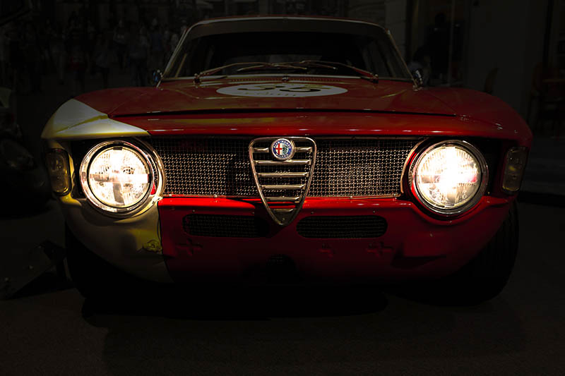 Wall Photograph Alfa Romeo