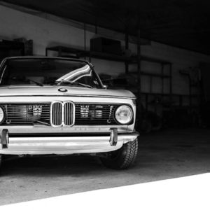 Wall Photograph BMW 2002 Touring