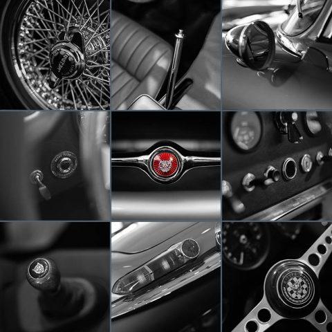 Wall Photograph Car Art Jaguar