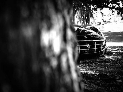 Wall Photograph Ferrari California