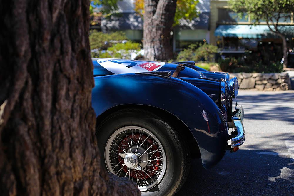 Wall Photograph Jaguar XK