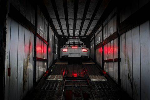 Wall Photograph Porsche GT2 RS