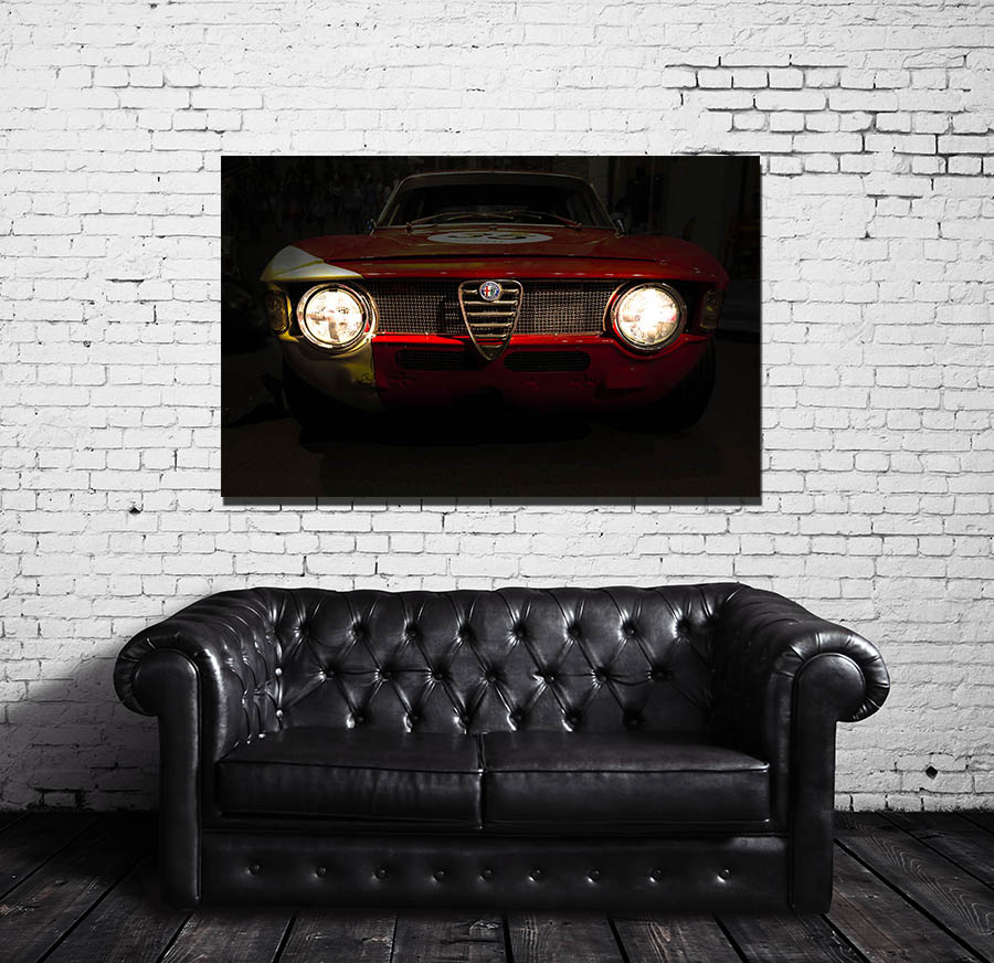 Wall Photographs Alfa Romeo