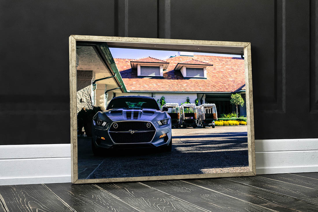 Wall Photographs Ford Mustang