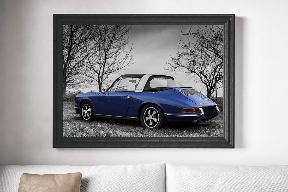 Wall Photographs Targa Soft Window