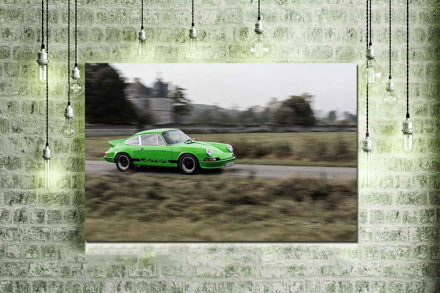Wall Print 911 Porsche Carrera RS