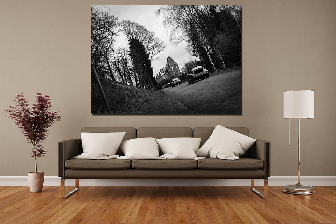 Wall Prints Porsche Castle