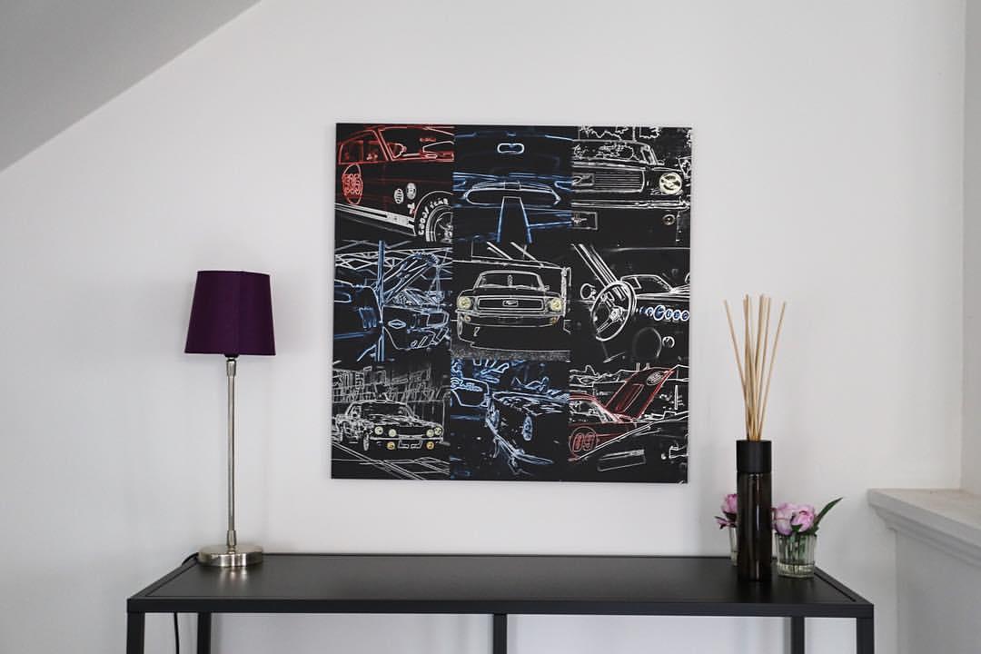 Walls Art Creations Ford Mustang