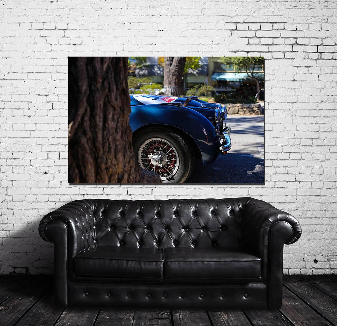 Walls Photographs Jaguar XK