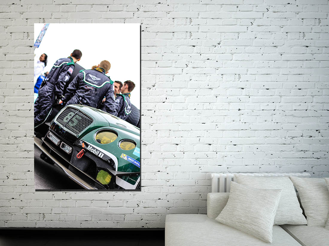 large car canvas prints bentley gt3