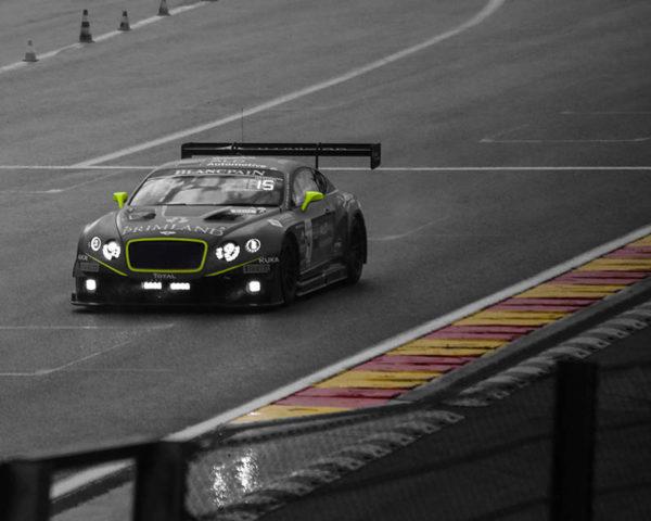 Art Print Bentley GT3